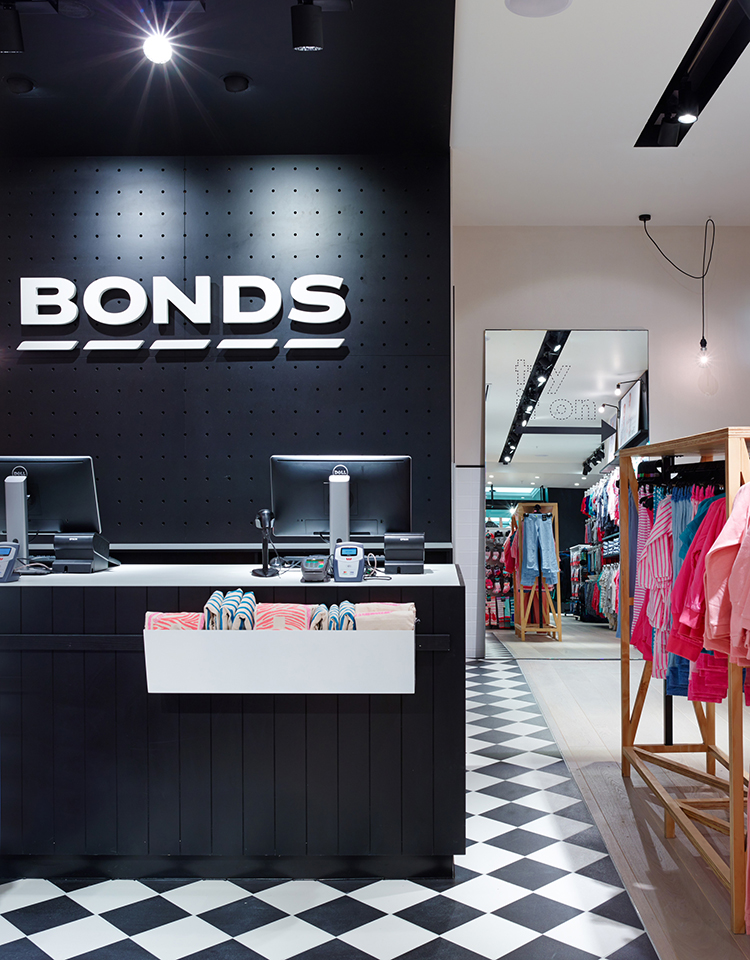 Bonds Retail by Design Clarity